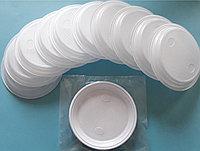 Тарелка одноразовая белая 210 мм 10 шт/уп Sherdin, фото 1