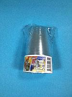 Стакан одноразовый прозрачный 100 мл. 10 шт/уп Sherdin, фото 1