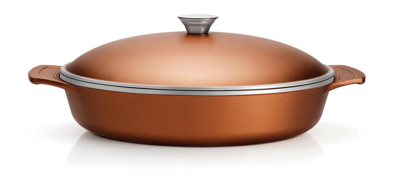 Сковорода из литого алюминия с антипригарным покрытием 32см 20951/432 Lyon Tramontina