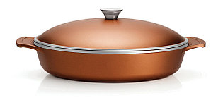 Сковорода из литого алюминия с антипригарным покрытием 32см. Lyon Tramontina