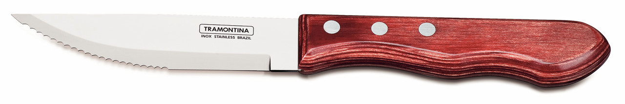 "Нож столовый для стейка 5"" 127 мм. Jumbo Polywood Tramontina"