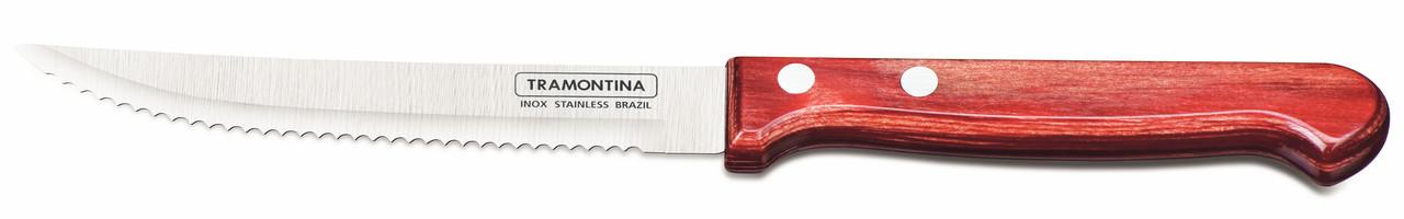 """Нож столовый для стейка (в блистере) 5"""" 127 мм.  Polywood Tramontina"""