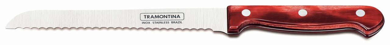 """Нож для хлеба (в блистере) 7"""" 178 мм 21125/177 Polywood Tramontina"""