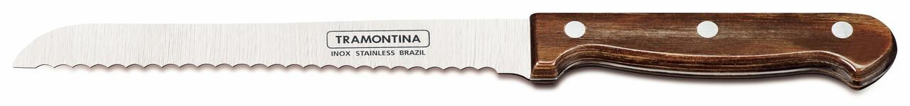"""Нож для хлеба (в блистере) 7"""" 178 мм 21125/197 Polywood Tramontina"""