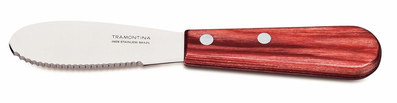 "Нож шпатель для масла 3"" 76 мм 21160/173 Polywood Tramontina"