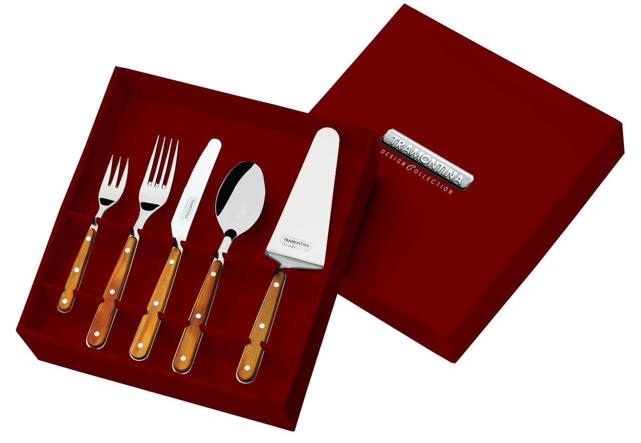 Набор столовых приборов 5 предметов 25 шт 21399/417 Design Collection Tramontina