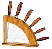 Набор ножей на подставке 7 предметов Design Collection Tramontina