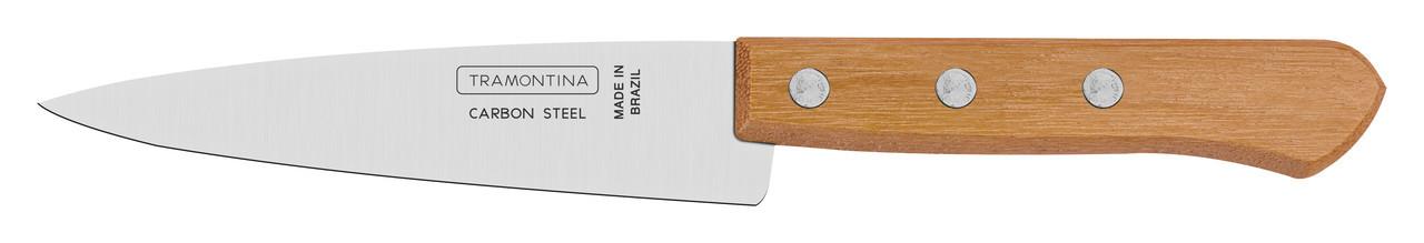 "Нож кухонный 5"" 127 мм.  Carbon Tramontina"