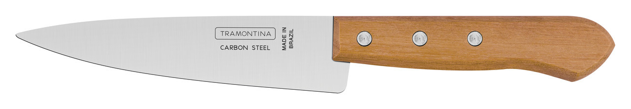 "Нож кухонный 6"" 153 мм 22950/006 Carbon Tramontina"