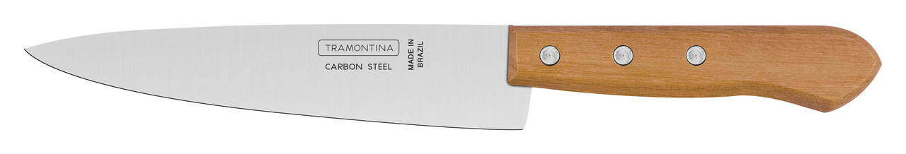 "Нож кухонный 7"" 178 мм. Carbon Tramontina"