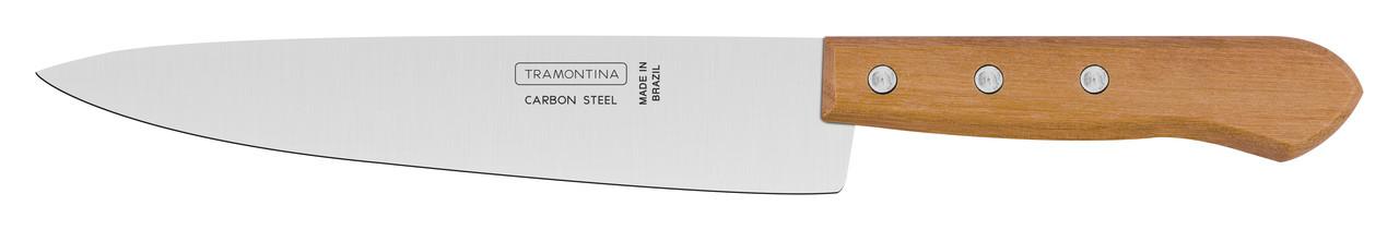 "Нож кухонный 8"" 203 мм. Carbon Tramontina"