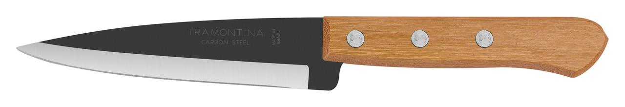 "Нож кухонный 5"" 127мм.  Carbon Tramontina"