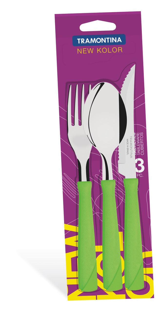 Набор столовых приборов 3 предмета 23199/269 New Color Tramontina