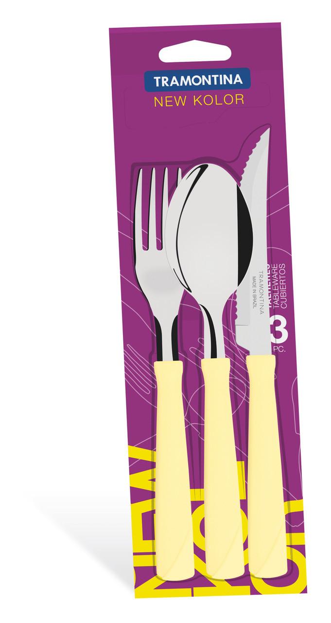 Набор столовых приборов 3 предмета 23199/369 New Color Tramontina