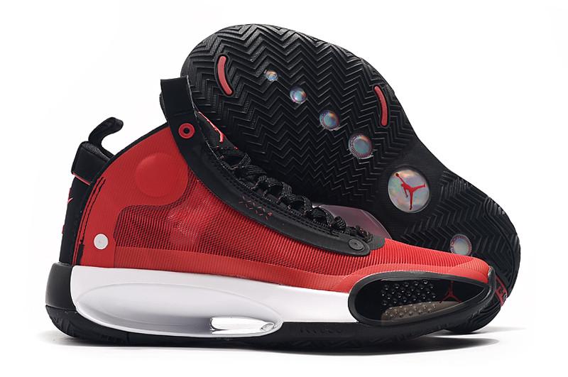 """Баскетбольные кроссовки Air Jordan 34 (XXXIV) """"Red"""" (40-46)"""