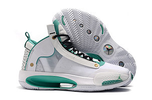 "Баскетбольные кроссовки Air Jordan 34 (XXXIV) ""White\Green"" (40-46), фото 2"