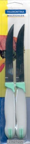 "Нож столовый 5"" 127 мм 2шт/уп 23527/225 Multicolor Tramontina"