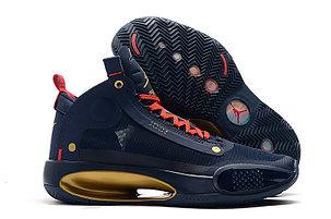 """Баскетбольные кроссовки Air Jordan 34 (XXXIV) """"Blue"""" (40-46), фото 2"""