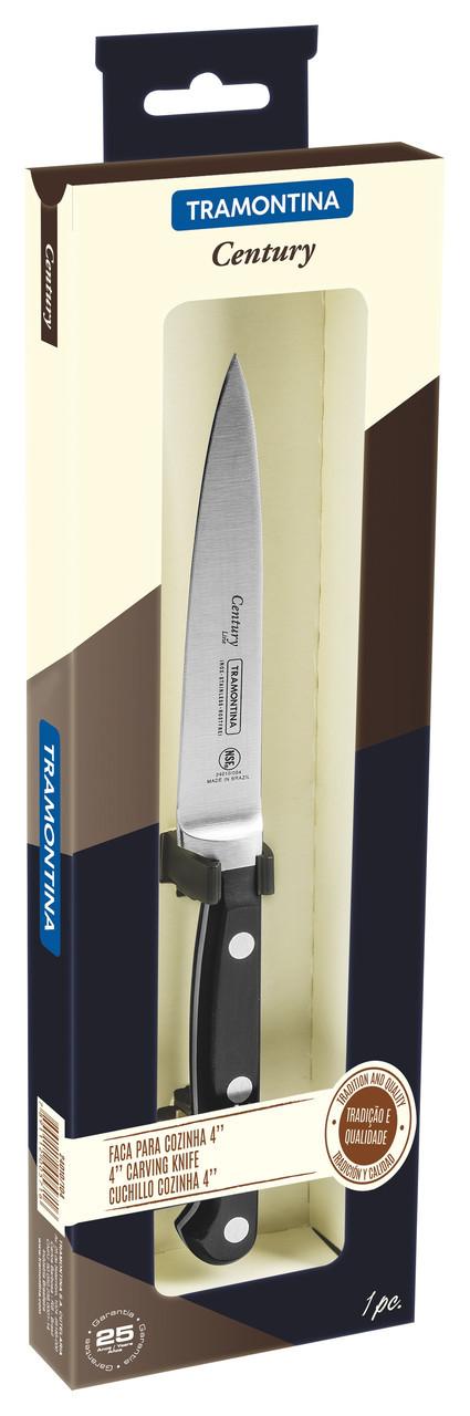 """Нож кухонный (в коробке) 4"""" 102 мм 24010/104  Century Tramontina"""