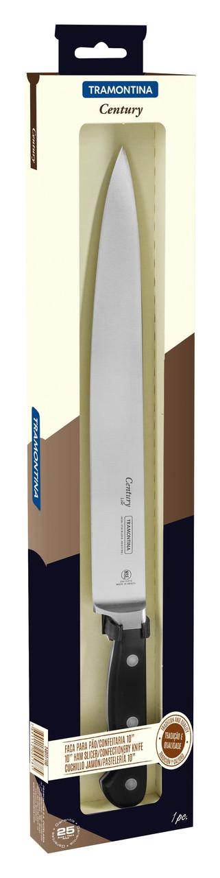 """Нож кухонный (в коробке)10"""" 254 мм. Century Tramontina"""