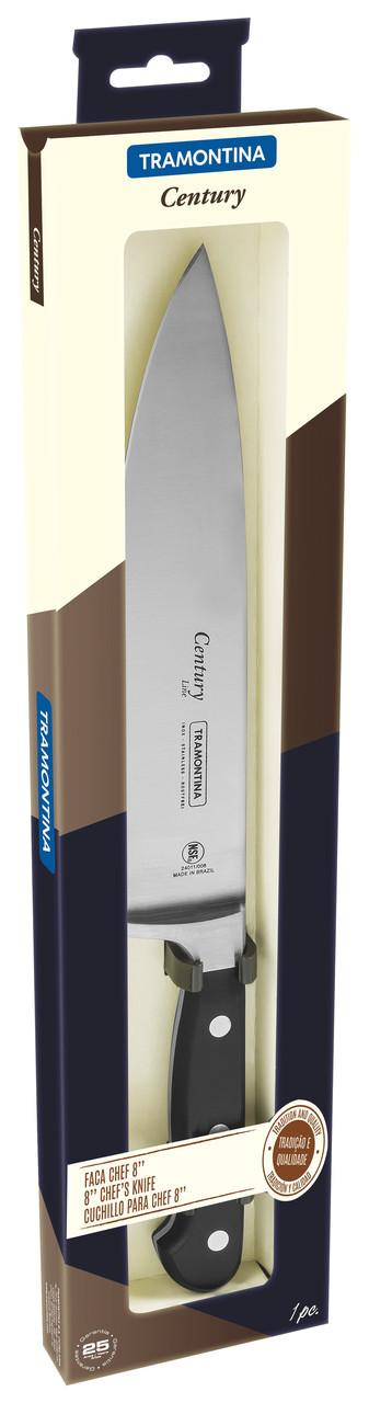 """Нож кухонный (в коробке) 8"""" 203 мм 24011/108 Century Tramontina"""
