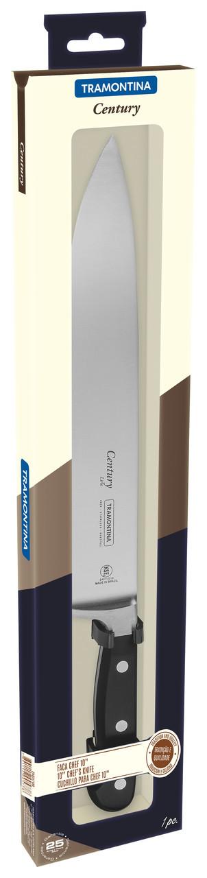 """Нож кухонный (в коробке) 10"""" 254 мм 24011/110 Century Tramontina"""