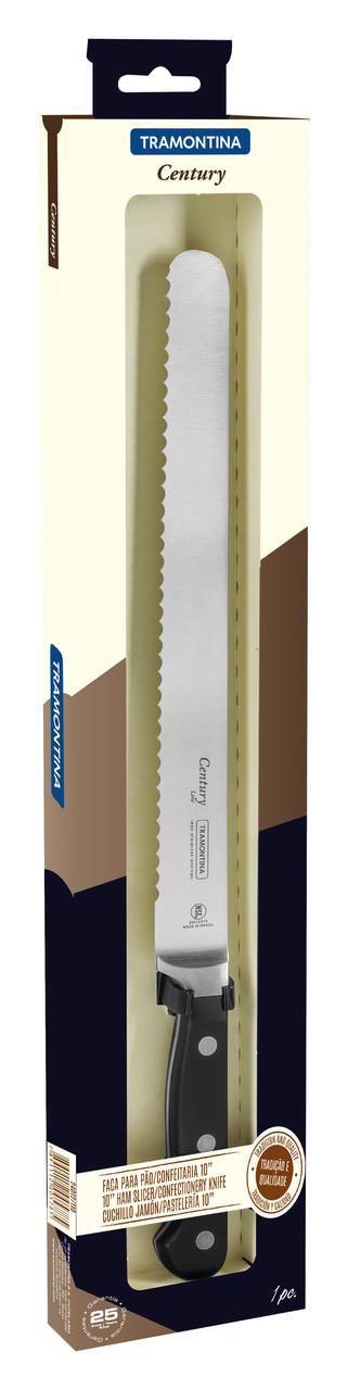 """Нож кондитерский  (в коробке) 10"""" 254 мм 24012/110 Century Tramontina"""