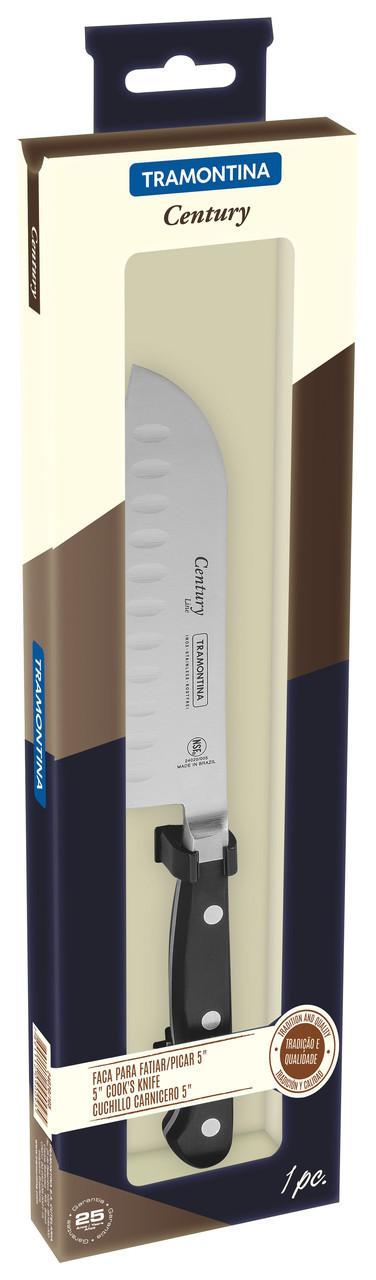 "Нож кухонный SANTOKU (в коробке) 5"" 127 мм 24020/105 Century Tramontina"