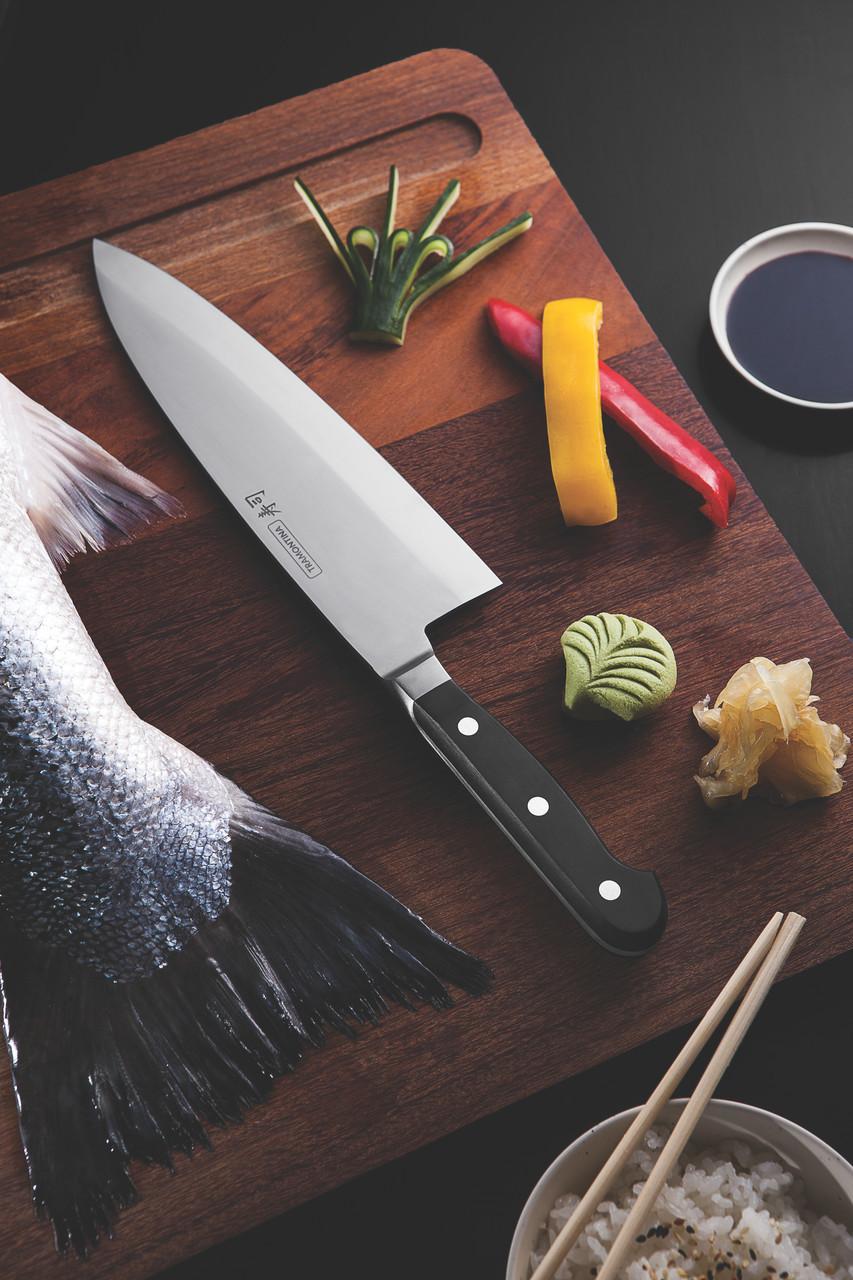 """Нож DEBA для разделки рыбы (в коробке) 8"""" 203мм Sushi Gold Tramontina"""