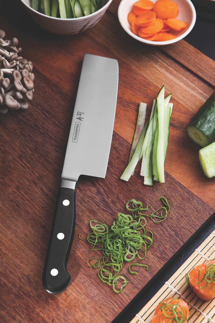 """Нож NAKIRI для нарезки овощей (в коробке) 7"""" 178мм Sushi Gold Tramontina"""