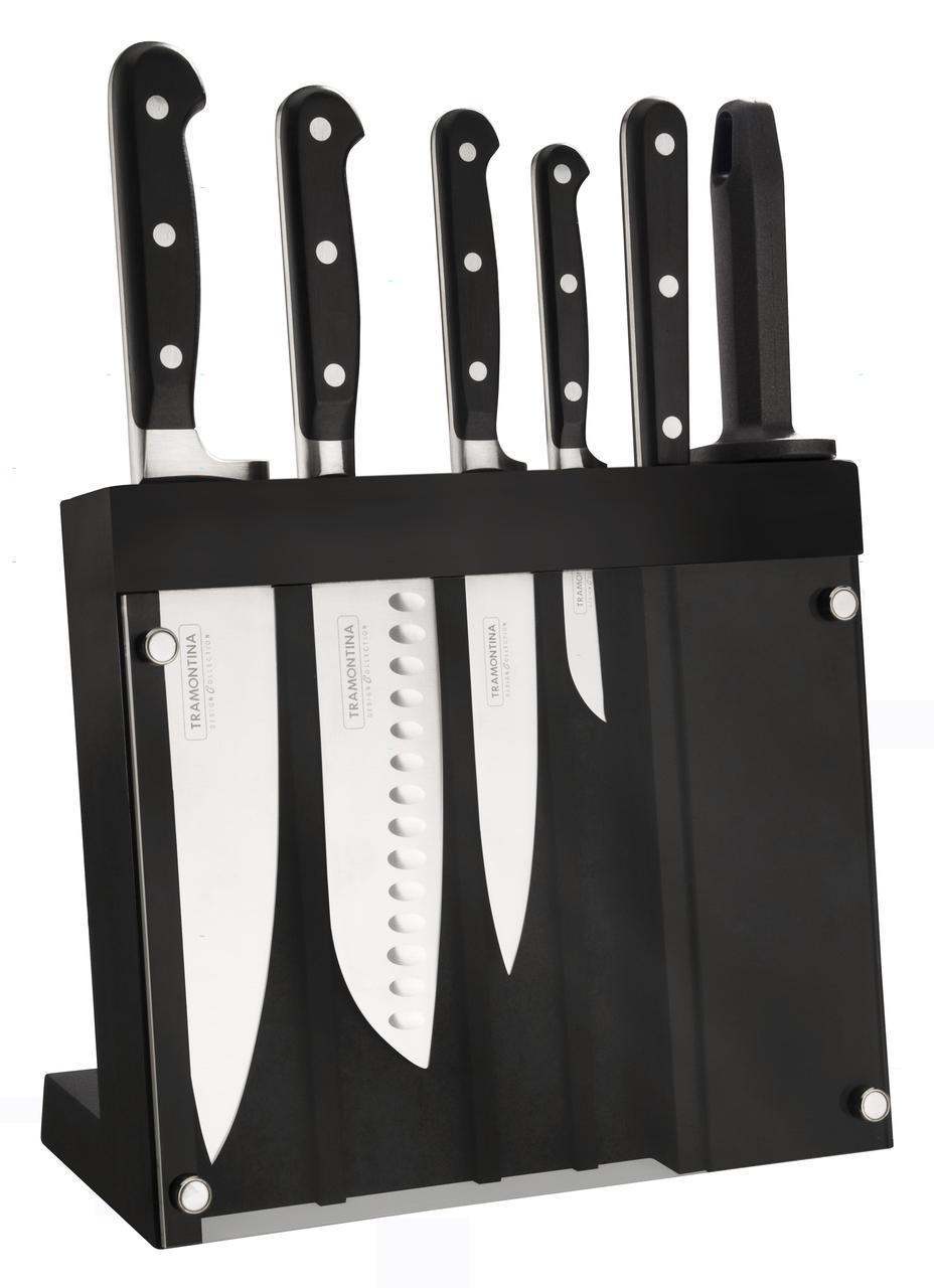 Набор ножей на подставке 7 предметов 24099/022 Century Tramontina