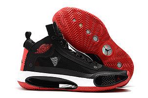"""Баскетбольные кроссовки Air Jordan 34 (XXXIV) """"Black\Red"""" (40-46), фото 2"""