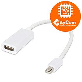 Переходник с разъема Mini DisplayPort на HDMI, Mini Dp - HDMI, для ноутбуков Apple Арт.1060