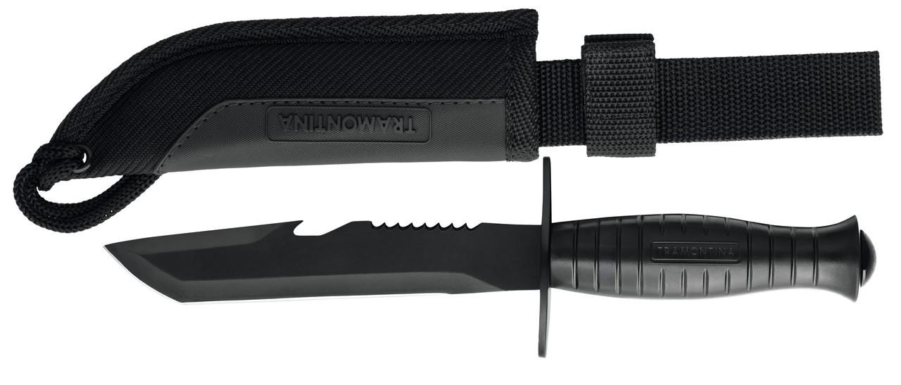 Нож туристический нескладной охотничий 26105/106 Commander Tramontina