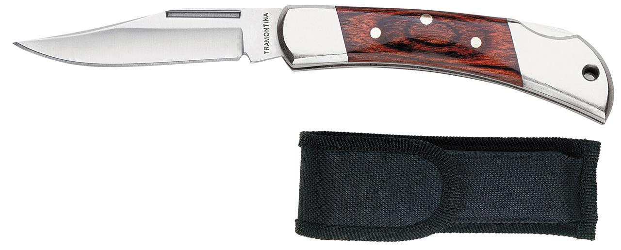 Нож туристический складной 26322/103 Pocketknife/Navajas Tramontina
