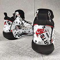 """Баскетбольные кроссовки Air Jordan 34 (XXXIV) """"Graffity"""" (40-46), фото 3"""