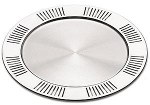 Тарелка сервировочная стальная 31см Coliseu Tramontina