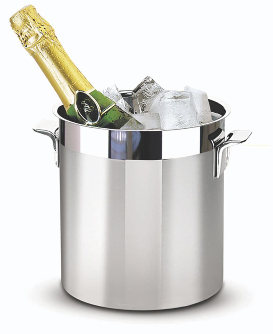 Ведро для шампанского стальное 18см 5,28л 61218/180 Cosmos Tramontina