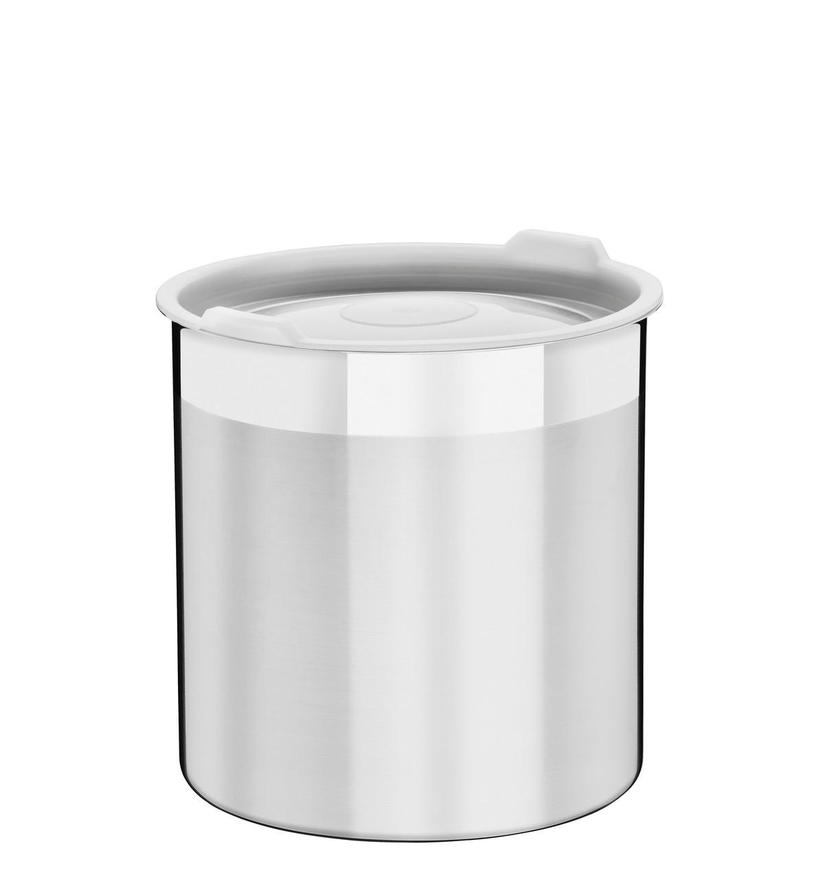 Емкость кухонная с крышкой стальная 12см 1,5л  Cucina Tramontina