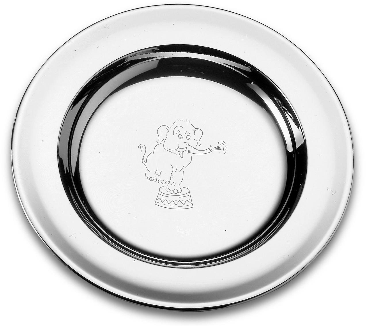 Тарелка детская стальная 23см 61254/230 Baby Tramontina