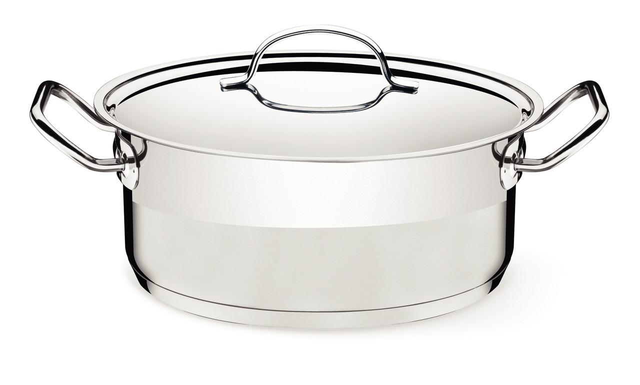 Кастрюля стальная 20см 2,9л 62623/200 Professional Gourmet Tramontina
