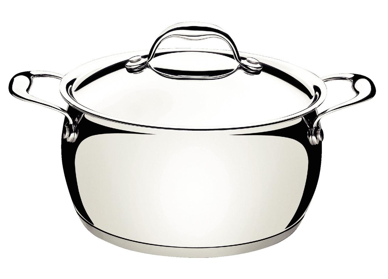 Кастрюля стальная 24см 4,5л Vega (mirror) Tramontina