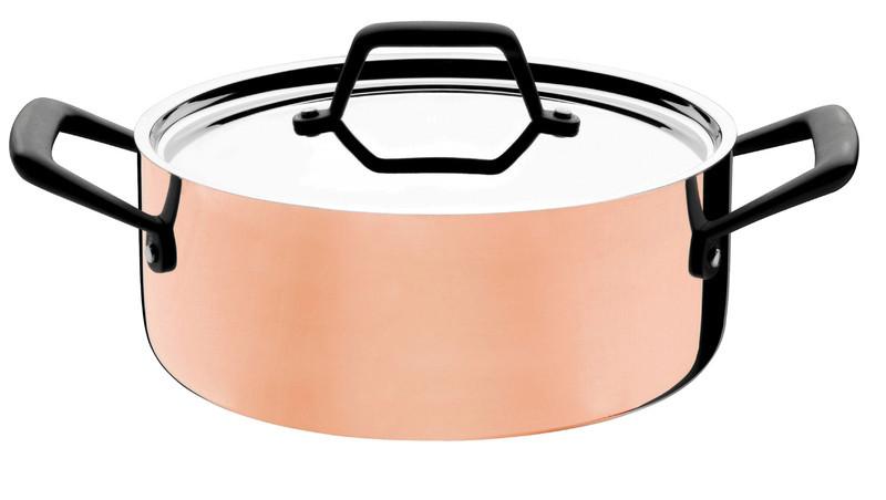 Кастрюля стальная с покрытием из меди 20см 2,6л 62943/203 Trix Cobre Tramontina