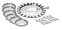 Набор для торта стальной 14 предметов 64160/020 Dunas Tramontina, фото 1