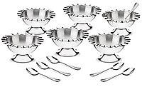 Набор для мороженого стальной 12 предметов 64160/800 Dunas Tramontina, фото 1
