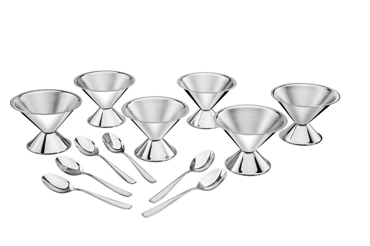 Набор для мороженого стальной 12 предметов 150мл 64210/720 Cosmos Tramontina