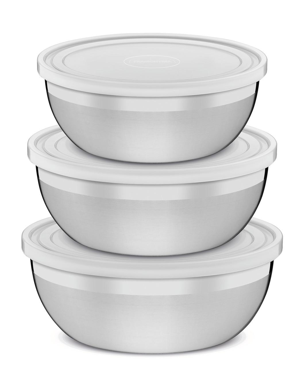 Набор емкости кухонные с крышкой стальные 3 предмета 64220/010 Freezinox Tramontina