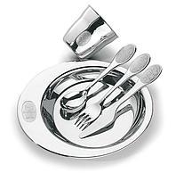 Набор детской посуды стальной 5 предметов 64250/940 Catty Tramontina, фото 1