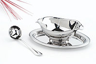 Набор для соуса стальной 2 предмета 350 мл 64260/300 Rotonda Tramontina, фото 1