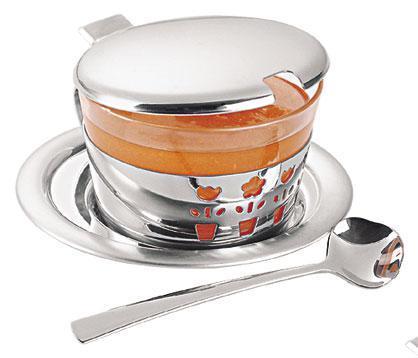 Набор для меда, варенья стальной 4 предмета 64280/500 Primavera Tramontina